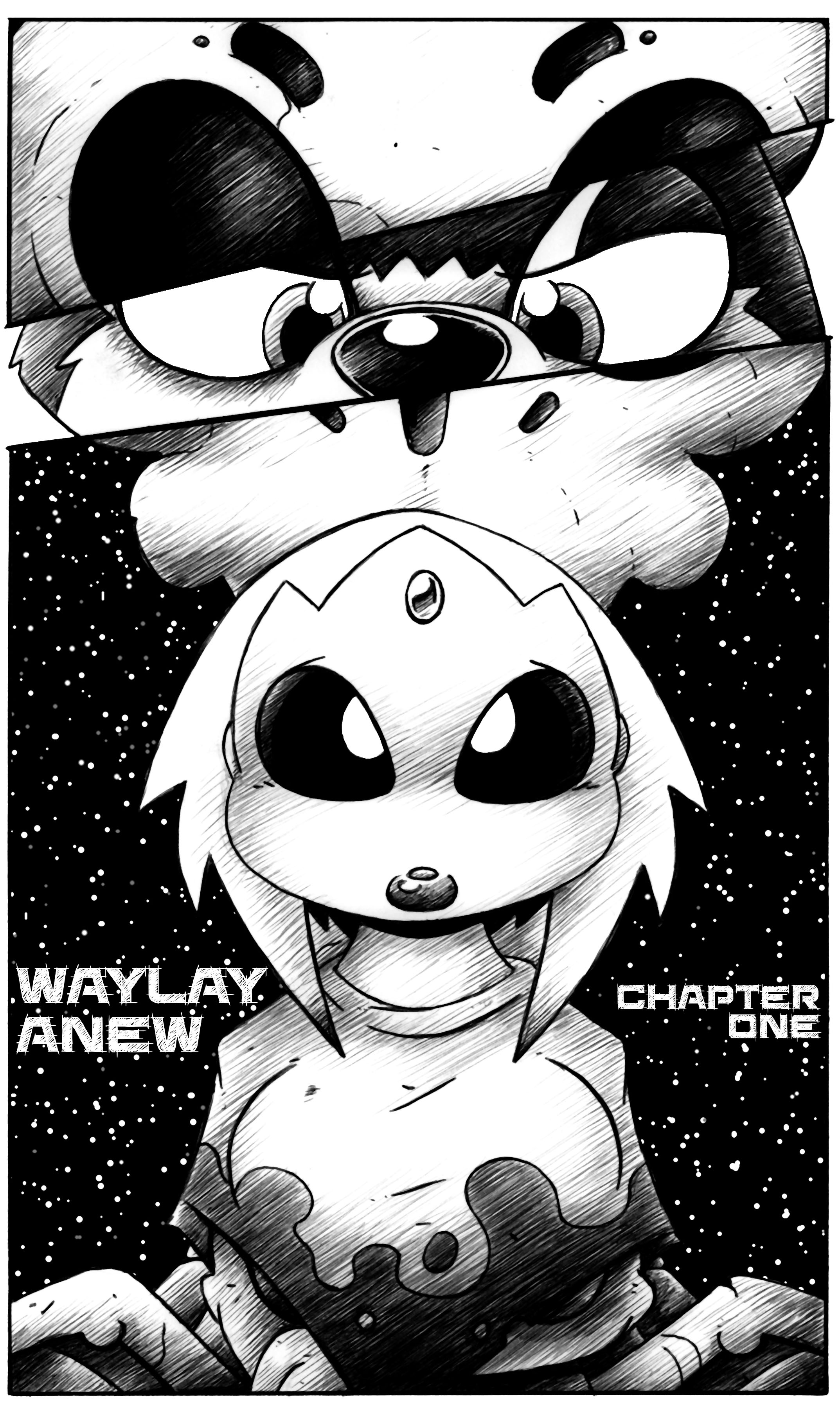 Waylay Anew: Chapter One, Cover